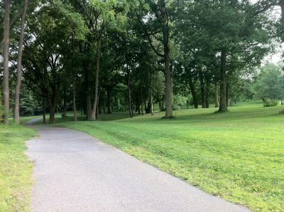 South Hills Park, Main course, Hole 1 Tee pad