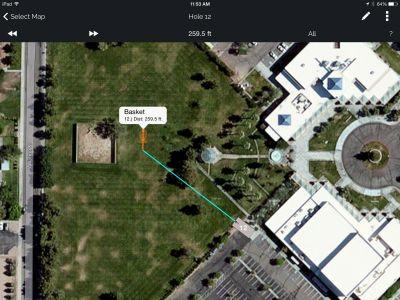 Freedom Park, Helmer Memorial DGC, Hole 12