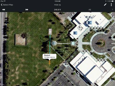 Freedom Park, Helmer Memorial DGC, Hole 14