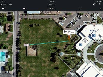 Freedom Park, Helmer Memorial DGC, Hole 13