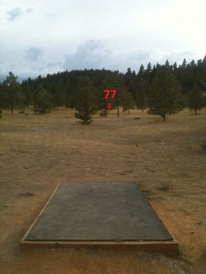 South Hills, Hyzer Hills, Hole 4 Tee pad
