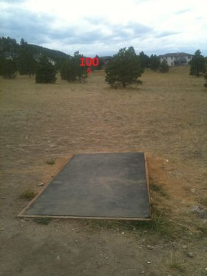 South Hills, Hyzer Hills, Hole 6 Long tee pad