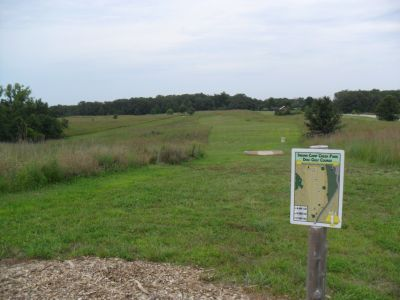 Indian Camp Creek Park, Main course, Hole 1 Long tee pad