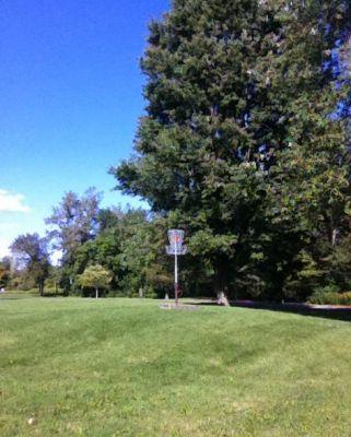 Swift's Landing Park, DMG Jr. Memorial, Hole 7 Hole sign