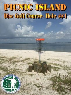 Picnic Island Park, Main course, Hole 1 Putt