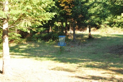 Buxton Woods, Main course, Hole 2 Short approach