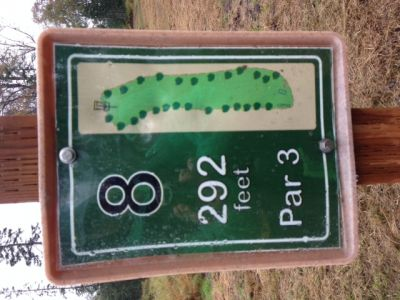 North Peninsula Recreation Service Area, Main course, Hole 8