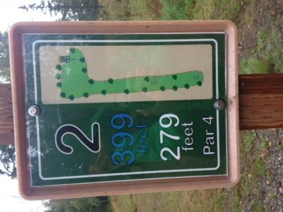 North Peninsula Recreation Service Area, Main course, Hole 2
