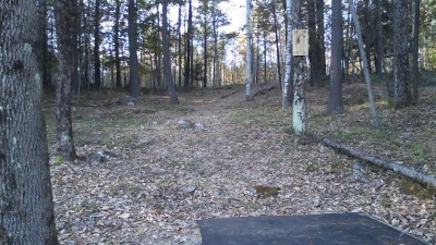 Devil's Grove, The Demon, Hole 14 Tee pad