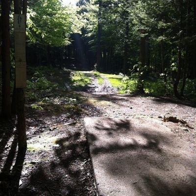 Burnsboro, Main course, Hole 9 Long tee pad
