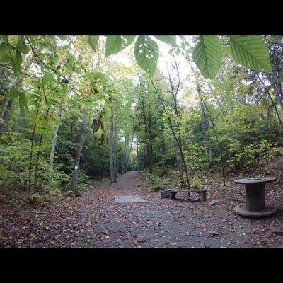 Burnsboro, Main course, Hole 6 Long tee pad