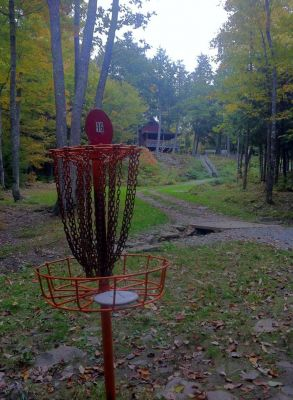 Burnsboro, Main course, Hole 16 Reverse (back up the fairway)