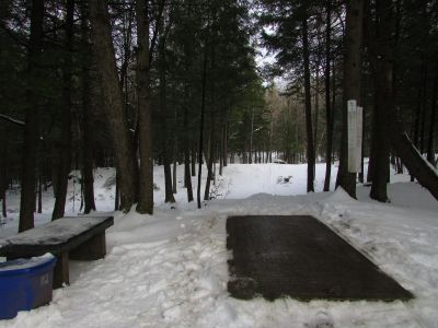 Burnsboro, Main course, Hole 5 Long tee pad