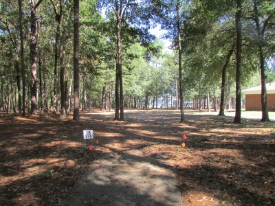 Trinity Baptist College, Main course, Hole 18 Tee pad