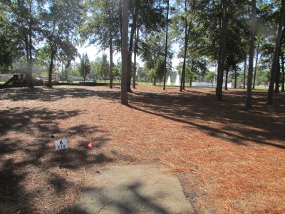 Trinity Baptist College, Main course, Hole 8 Tee pad
