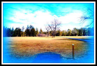 Ocean County Park, Main course, Hole 5 Tee pad