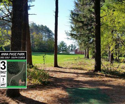 Anna Page Park, South, Hole 3 Tee pad