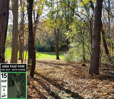 Anna Page Park, South, Hole 15 Tee pad