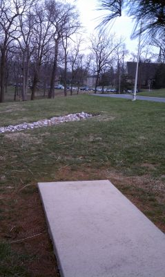 Goucher College, Main course, Hole 7 Tee pad