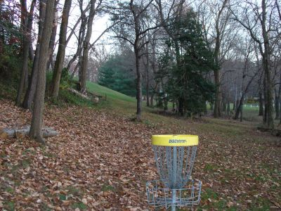 Pine Grove Middle School, Main course, Hole 5 Reverse (back up the fairway)