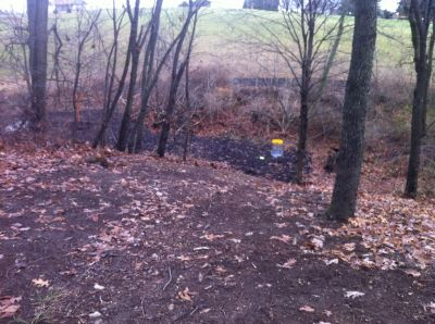 Lenni Lenape Park, Main course, Hole 9 Midrange approach