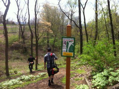 Lenni Lenape Park, Main course, Hole 4 Tee pad