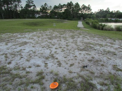 St. Johns River State College, Main course, Hole 9 Short approach