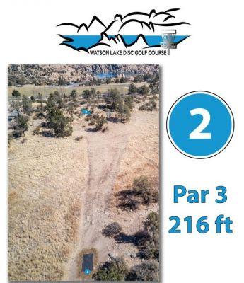 Watson Lake Park, Main course, Hole 2