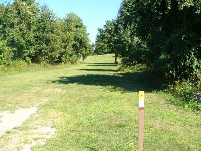 Rockburn Branch, Main course, Hole 2 Tee pad