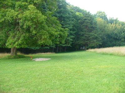 Patapsco Valley State Park, Main course, Hole 3 Long tee pad