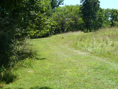 Patapsco Valley State Park, Main course, Hole 12 Short tee pad