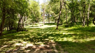 Seneca Creek State Park, Main course, Hole 18