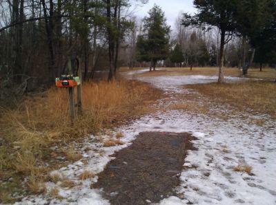 Seneca Creek State Park, Main course, Hole 7 Tee pad