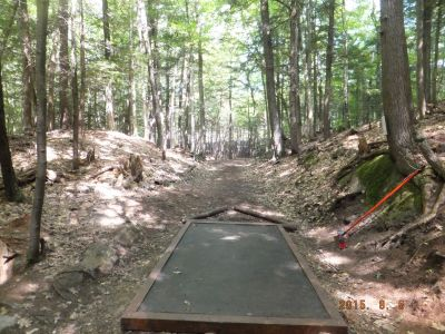 Otter Brook State Park, Main course, Hole 6 Tee pad