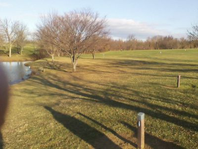 Middletown Park, Main course, Hole 1 Long tee pad