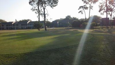 Bird Bay Executive Golf Club, Main course, Hole 2 Short approach