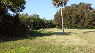 Bird Bay Executive Golf Club, Main course, Hole 14 Tee pad