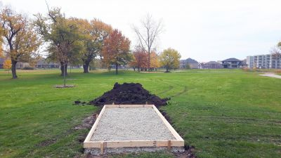 Lakewood Park, Main course, Hole 12 Tee pad