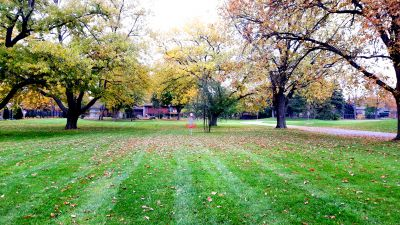 Lakewood Park, Main course, Hole 3 Short approach