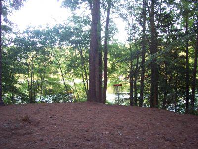 Schumaker Pond, Main course, Hole 17 Short approach