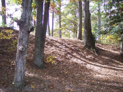 Schumaker Pond, Main course, Hole 4 Midrange approach