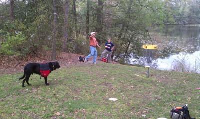 Schumaker Pond, Main course, Hole 14 Putt
