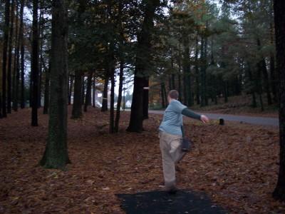 Schumaker Pond, Main course, Hole 9 Short tee pad