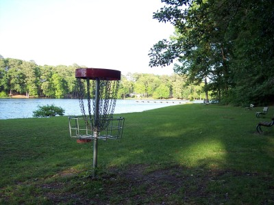 Schumaker Pond, Main course, Hole 3 Reverse (back up the fairway)