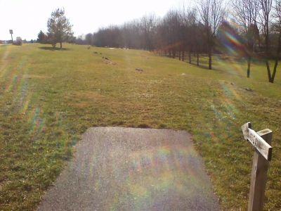 Heritage Farm Park, Main course, Hole 8 Tee pad