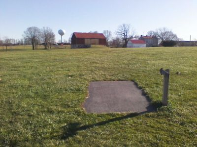 Heritage Farm Park, Main course, Hole 13 Tee pad