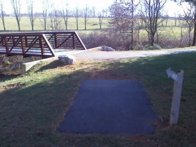 Heritage Farm Park, Main course, Hole 7 Tee pad
