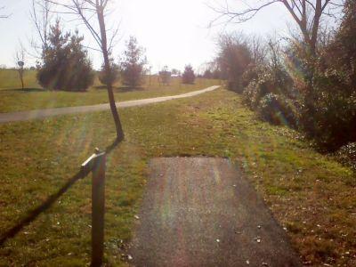 Heritage Farm Park, Main course, Hole 4 Tee pad