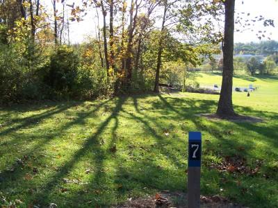 Woodsboro Regional Park, Main course, Hole 7 Long tee pad