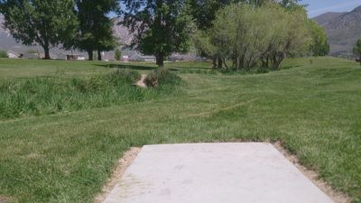 Harrisville City Park, Main course, Hole 2 Tee pad